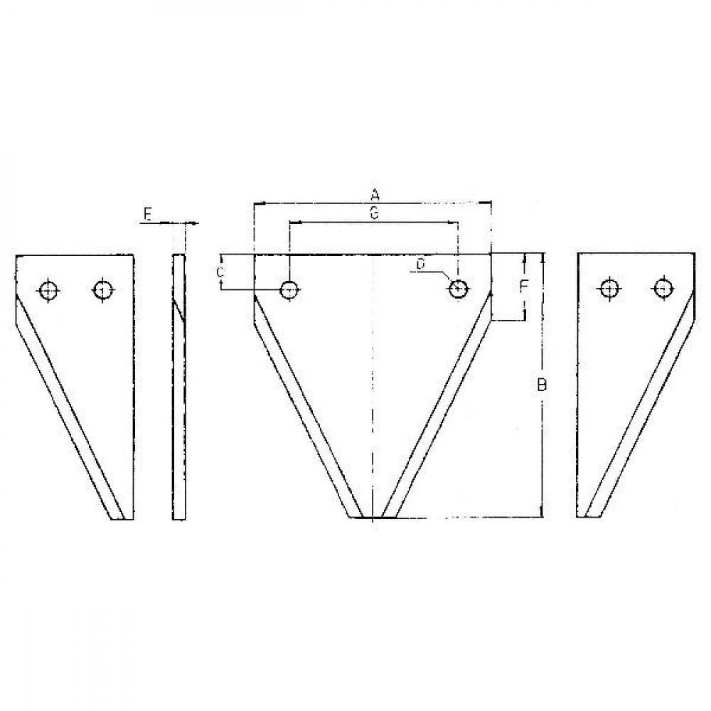 Mesje ESM - 3440541 | 2x5,5 + 1x12 mm | 2,5 mm | 27,5 mm
