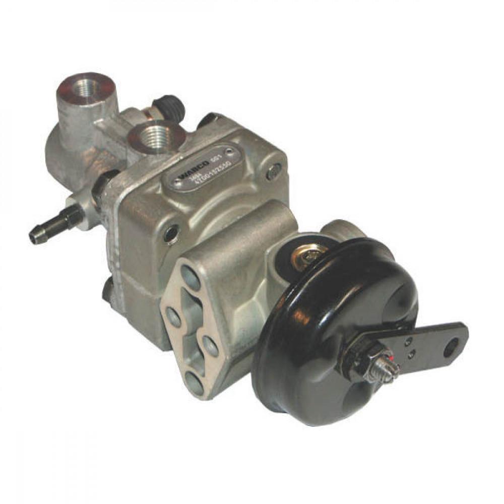 Wabco Aanhangerstuurventiel - 4700152560 | 2-cirkel | 19 bar | 2 cm³ | remvloeistof