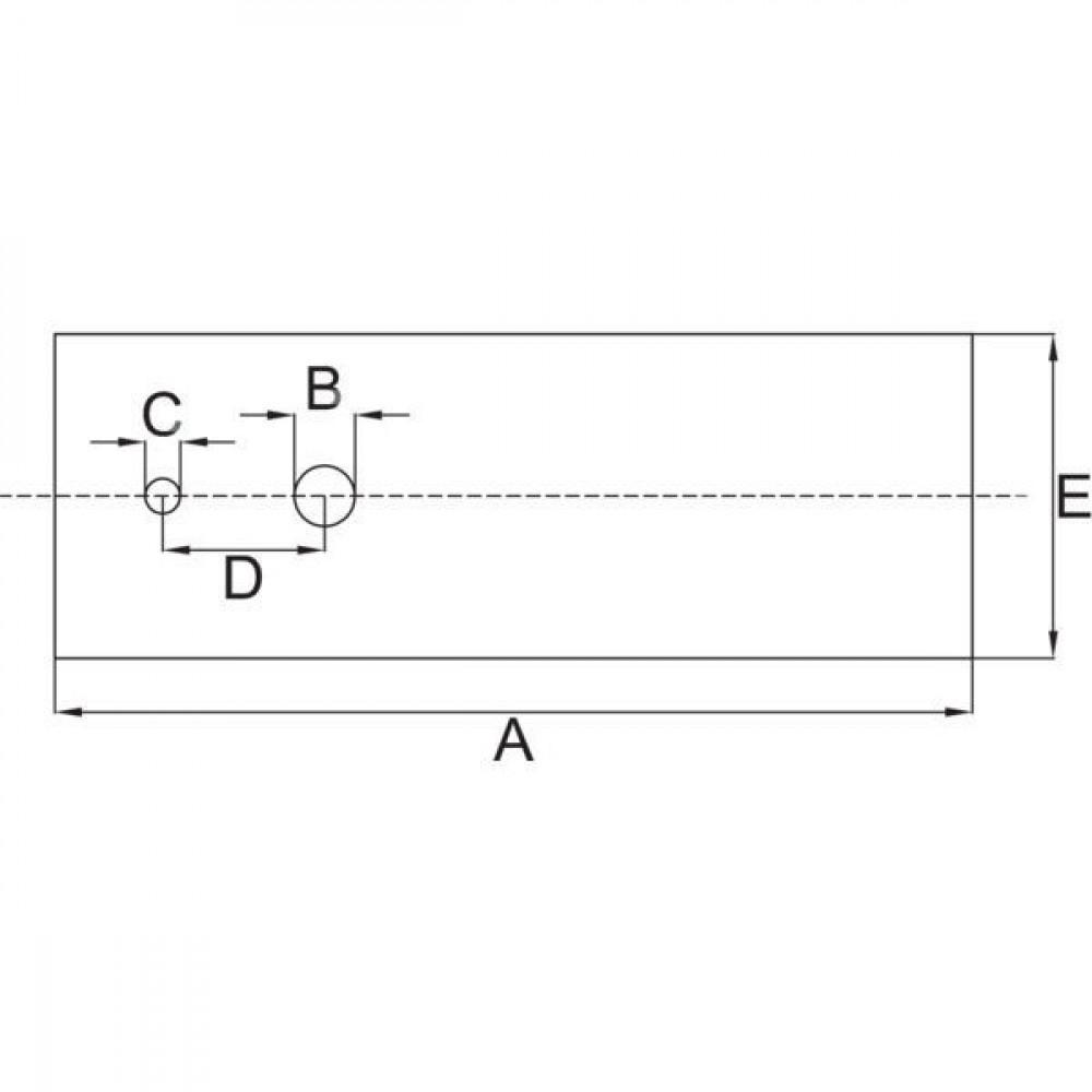 Flymo Mestips (6x) PVC - 513846990 | Flymo: 51-38469-90 | 13.3 mm