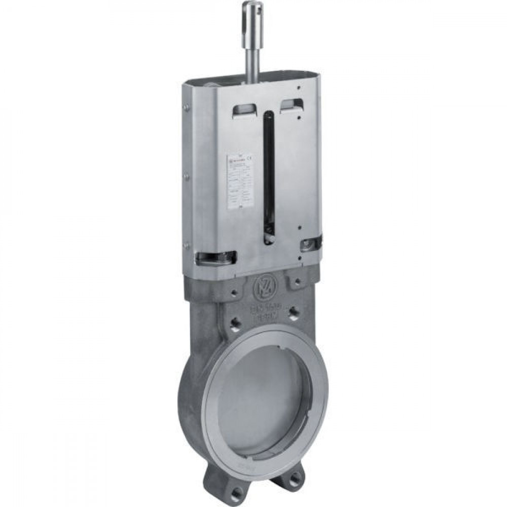 "MZ Mesafsluiter 6"" RVS - 6012000   DIN PN 10   10 bar   65,5 mm   413 mm   128,4 mm   150 mm   6 Inch   205 mm   10,5 mm   520 mm   107 mm   240 mm   18.500 g"