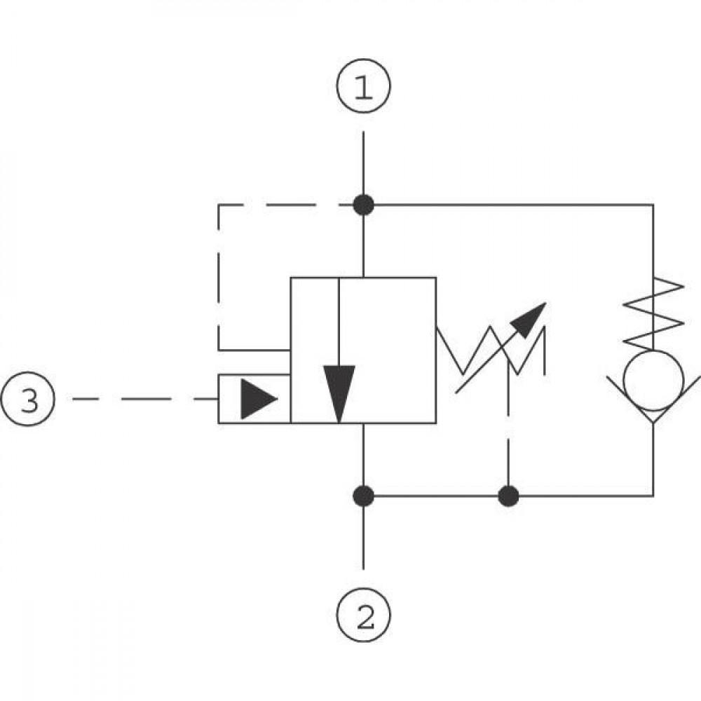 Comatrol Bal.patroon - CB10HV1A1E100B00   SDC 10-3S   60 l/min   1 bar   35 110 bar