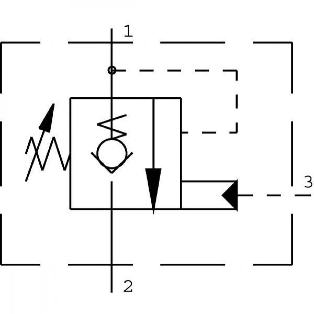 Comatrol Bal.patroon CP4411B0EB131 - CP4411B0EB301 | 97 mm | 55,9 mm | CP12-3S | 114 l/min | 1 bar | 31.8 mm | 103 207 bar | 115 122 Nm