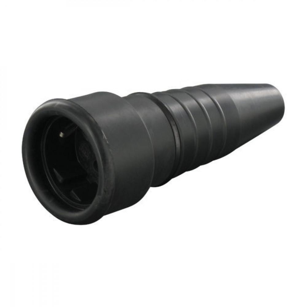 Rubber contrastekker 2P+RA - EM351L | 2-polig met randaarde