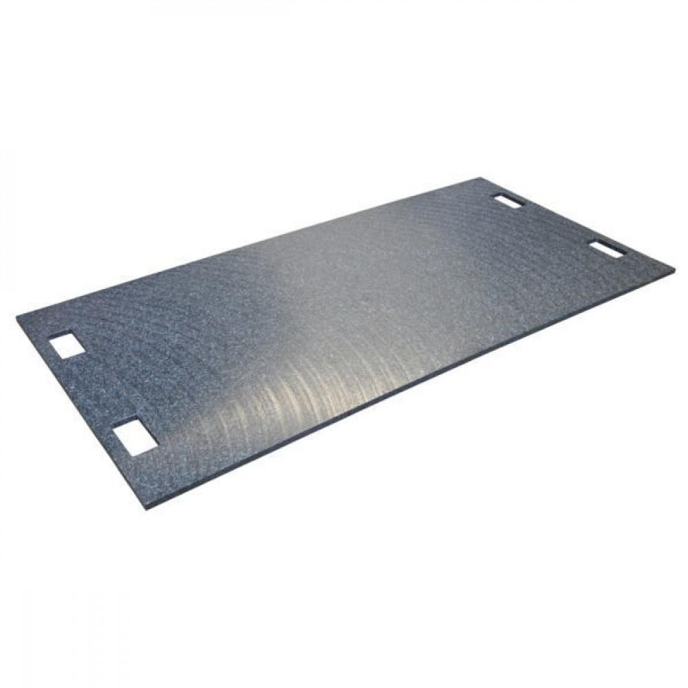 LuxTek Kunststof rijplaat - GPP2000100015 | Voorzien van handvaten | 2000 mm | 1000 mm