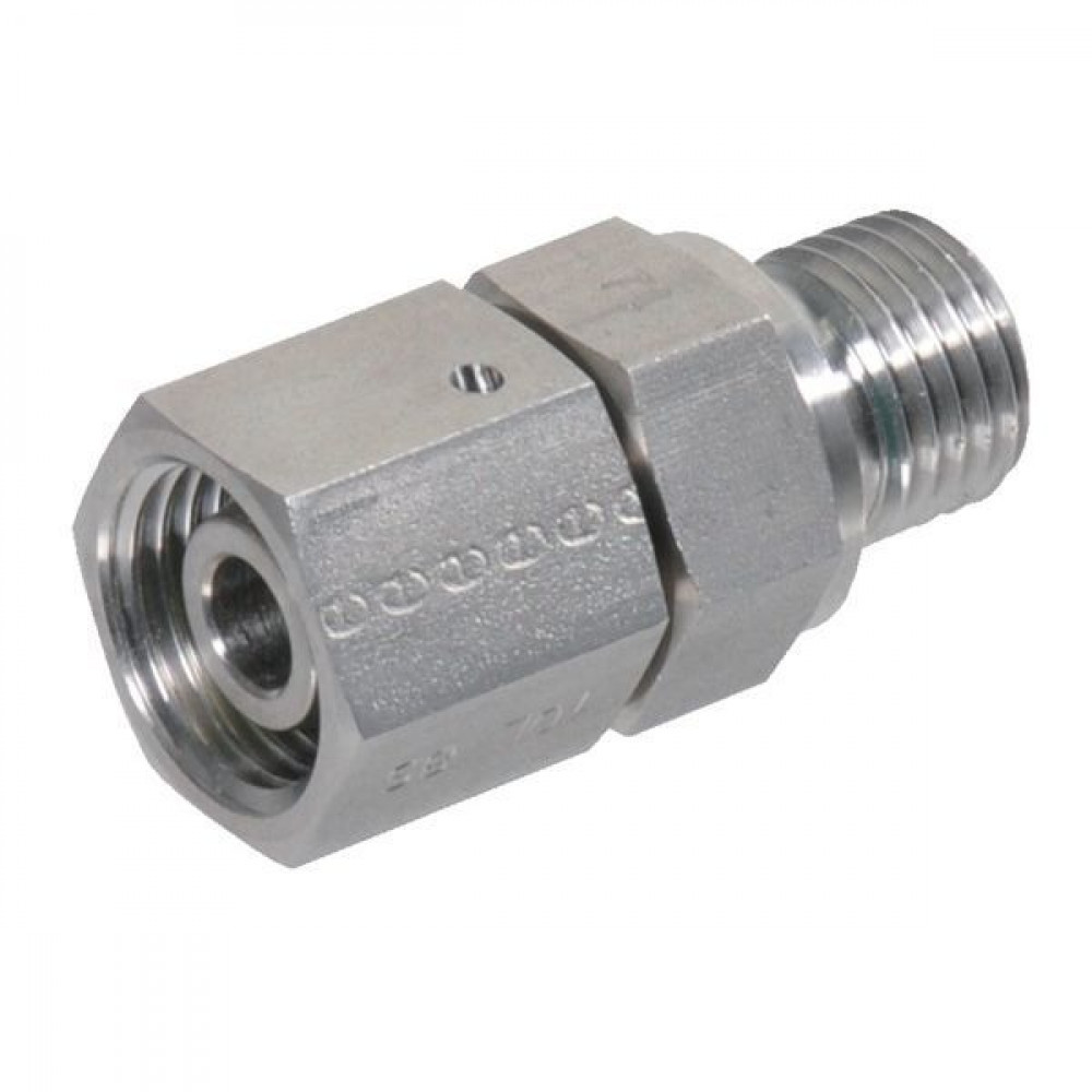 Inschroefkoppeling EGESD-M-WD-RVS | Materiaal RVS 316L