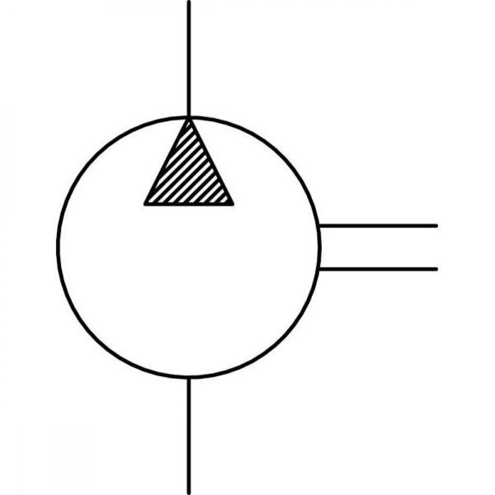 Kappa 20 groep 2 82E2   Europees 4-gats flens   Conische as 1 : 8