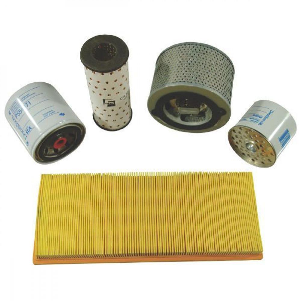 Filters passend voor Bobcat X 325 / Kubota D1402B