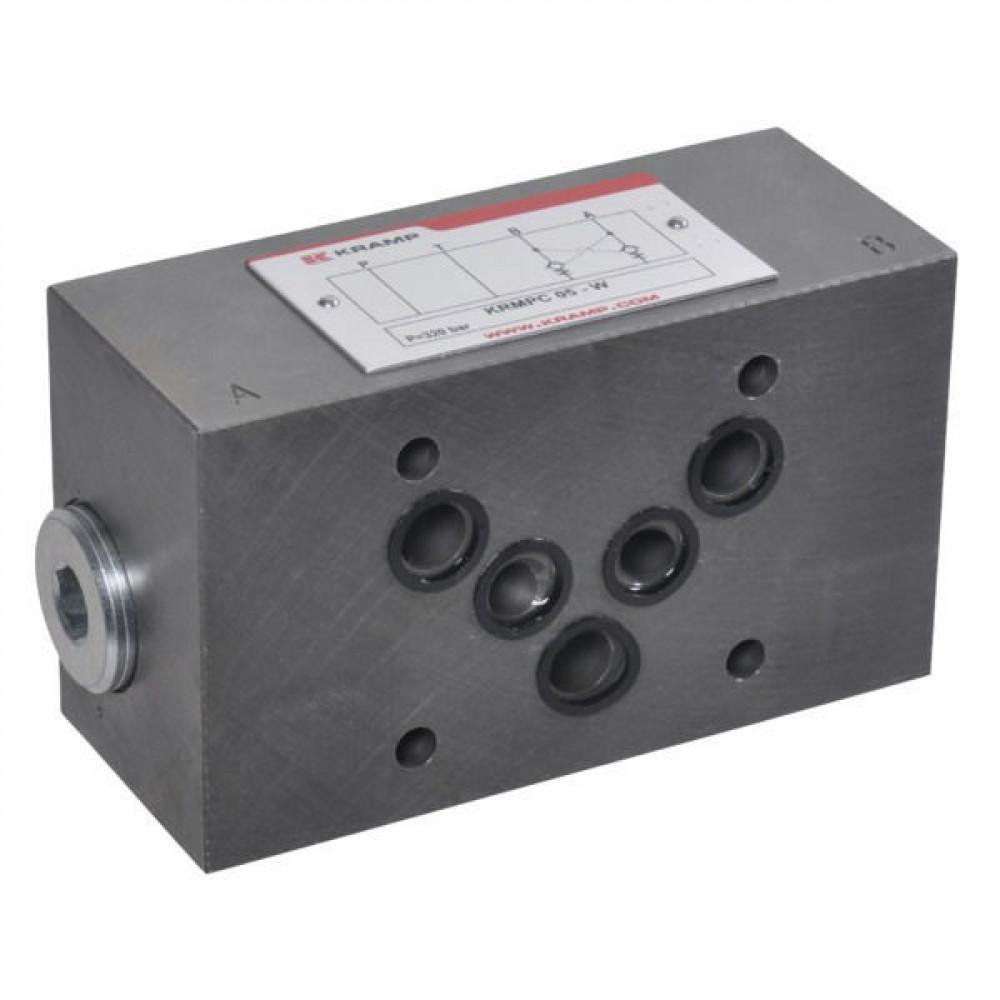 Gest. terugslagvent. NG10 - KRMPC05B | Geschikt voor tussenbouw | Max. 100 l/min
