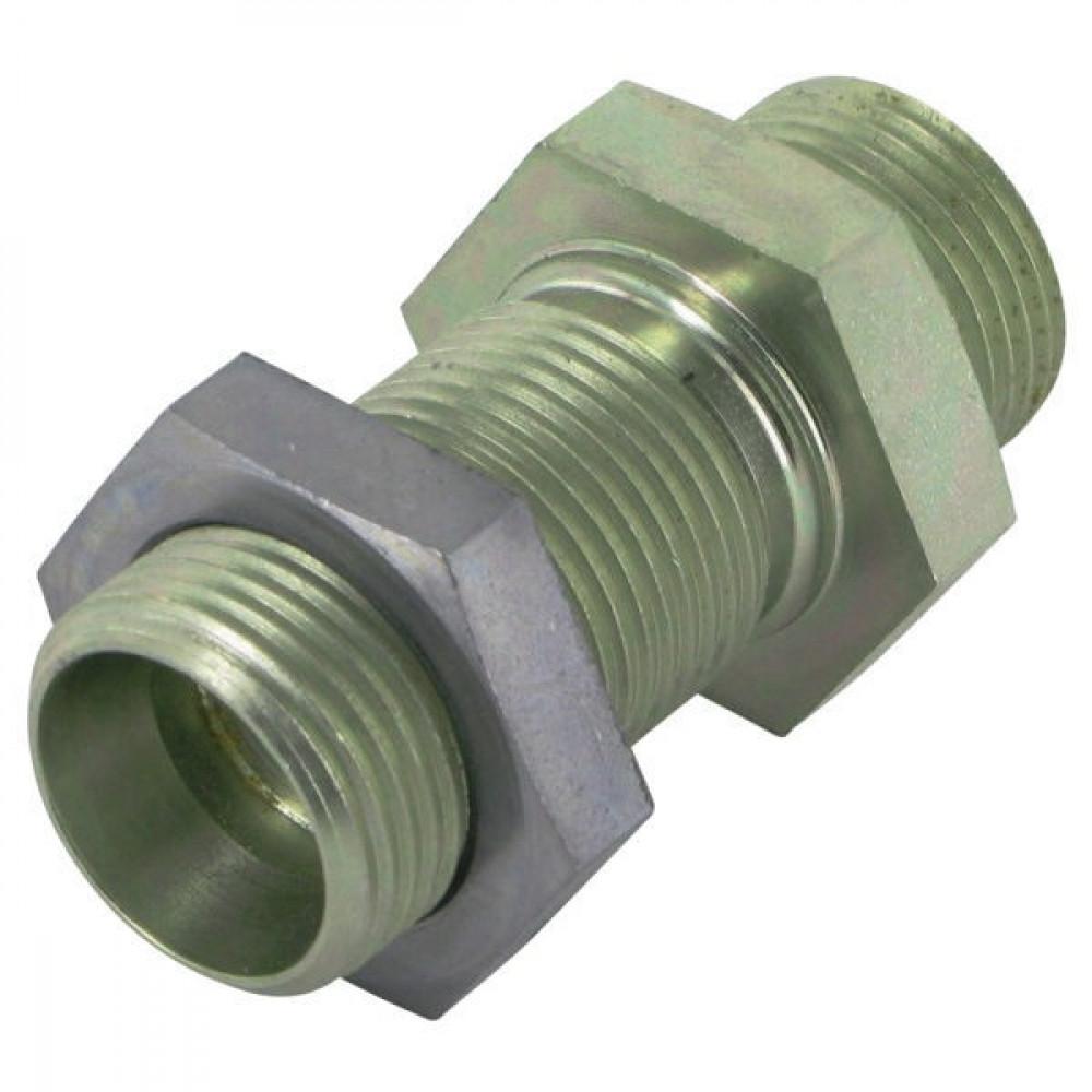 Voss Schotkoppeling - UAG27CLNE | Zink / Nikkel | 24 ° | 3/4 26,75 mm | 180 bar