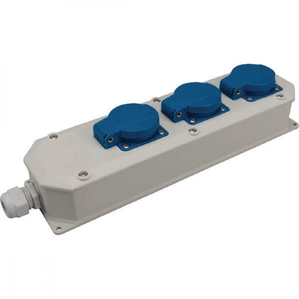 Koppelingsstekker 3-w, deksel - VD16 | 44 IP