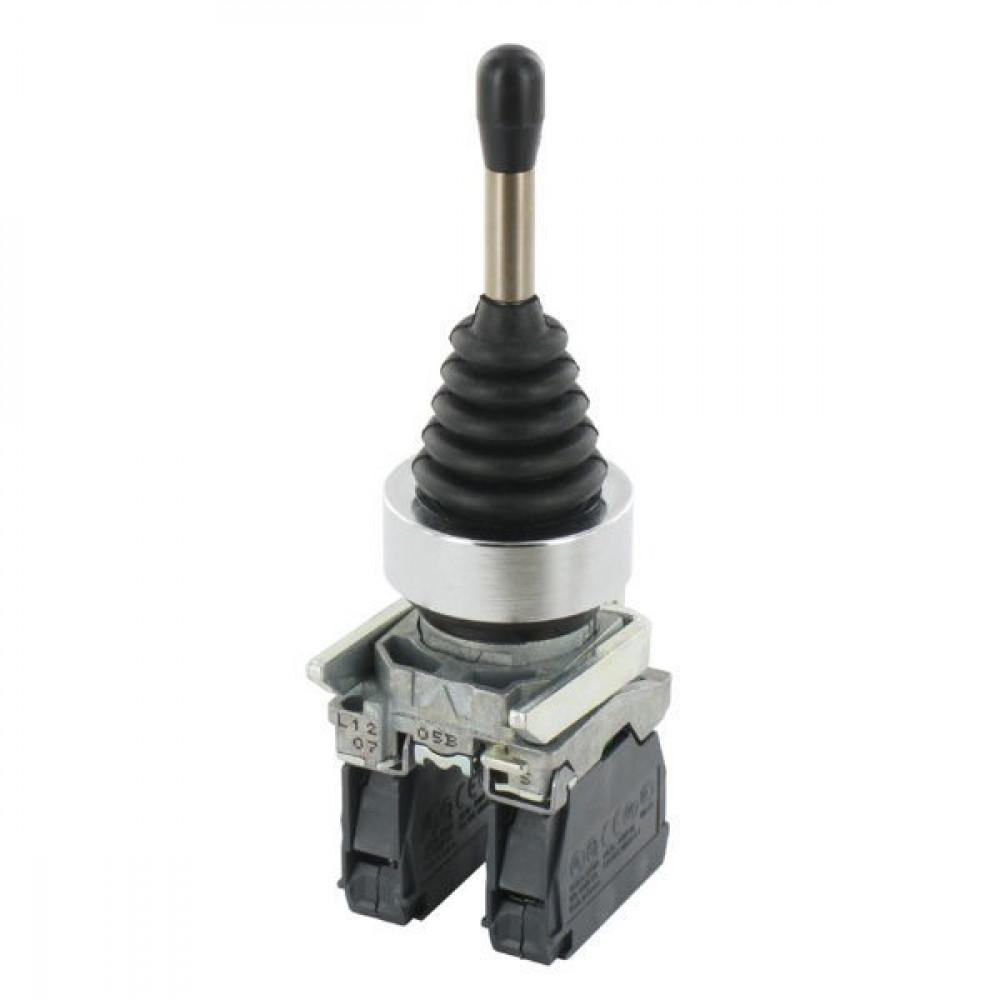 Schneider-Electric Joystick, 2 richt., veerkabel m. contact - XD4PA22 | Compleet met contacten | 0,5 A DC-13 24V | 1*10E6 schakelingen | 2x 1,5 mm² mm2 | 4 A AC-15 24V