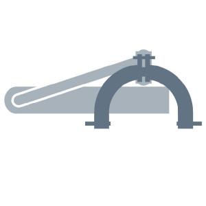 Claas Werktuigpen - 0009516460 | D50H9x250mm, Rechts