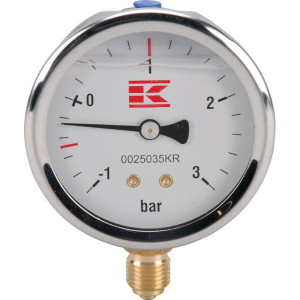"Manometer 1/4"" 63 mm + glyc. - 0025035KR 