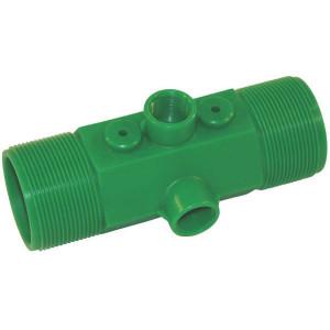 """Polmac Doorstroommeter 2"""" 75-750 - 00370247   2 Inch   20 bar   173 mm   75 750 l/min ltr/min   2 inch   keramisch"""