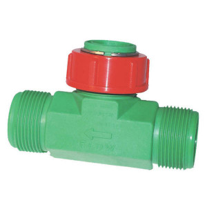 Polmac Doorstroommeter + turbine - 00375039   1 1/2 Inch   135 mm   10 60 l/min ltr/min   1 1/2 inch