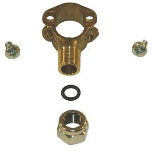 Arag Dophouder met 1 dopaansluiting - 004715 | 1/2 Inch | 20 mm | 3/8 BSP | Messing | 1/2 Inch