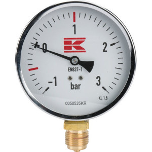"Manometer 1/2"" 100 mm - 0050535KR 