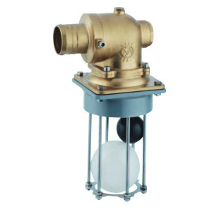 MZ Overloopventiel ø 75 - 0075025 | 75 mm | 162 mm | 145 mm | 168 mm | 420 mm