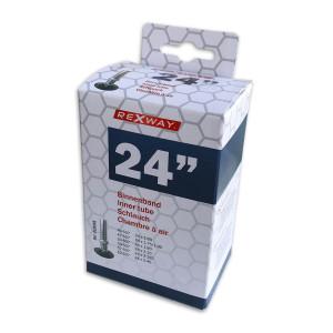 "Rexway Fiets binnenband 24"" AV | Afmeting 40/62-507"