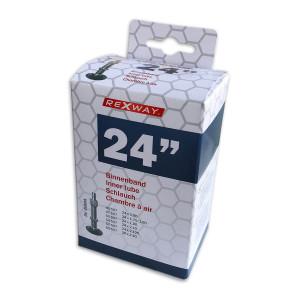 "Rexway Fiets binnenband 24"" DV | Afmeting 40/62-507"