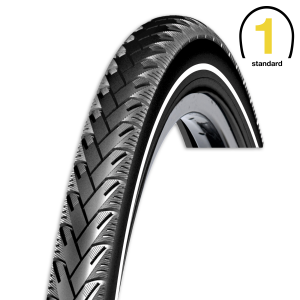 Rexway buitenband Mencos voor fietsen | Afmeting 28 x 1 5/8 x 1 3/8 (37-622) (700 x 35C)