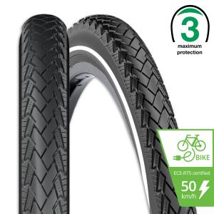 Rexway buitenband E-bike max. 50 km/h. Conejo 02 voor fietsen   Afmeting 28 x 1 5/8 x 1 3/8 (37-622) (700 x 35C)