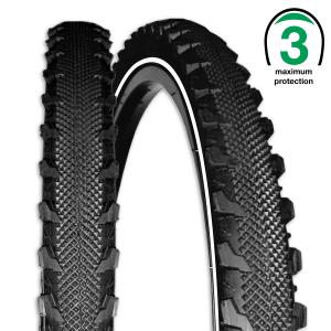 Rexway buitenband Serpent voor fietsen   Afmeting 24 x 1.75 (47-507)
