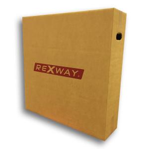 Rexway Bandendoos voor fietsen   Afmeting 80 x 20 x 80 cm