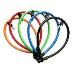 Lynx Cilinder kabelslot voor fietsen | Afmeting 6 mm x 65 cm