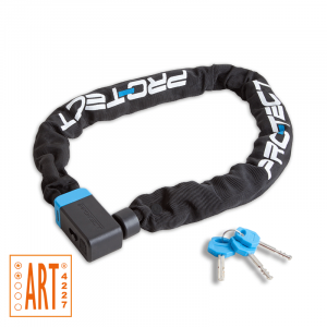 Pro-tect Kettingslot Cubic ART-2 voor fietsen   Afmeting 120 cm x 9 mm