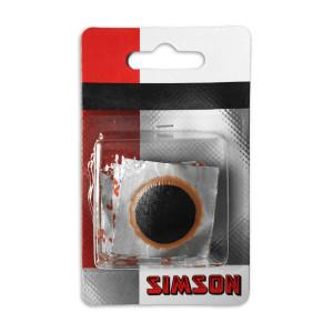 Simson binnenbandpleisters 25 mm voor fietsen | Afmeting 25 mm