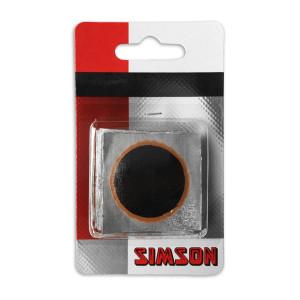 Simson binnenbandpleisters 33 mm voor fietsen | Afmeting 33 mm