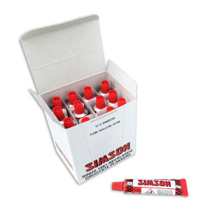 Simson solutie 10 ml (12 stuks) voor fietsen | Afmeting 10 ml