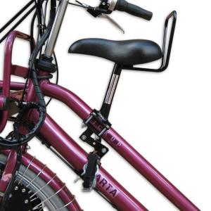 Zadel op stang - model 1 voor fietsen