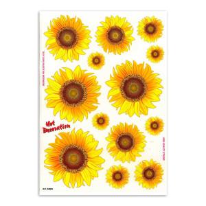 Sunflowers voor fietsen | Afmeting 34 x 24 cm