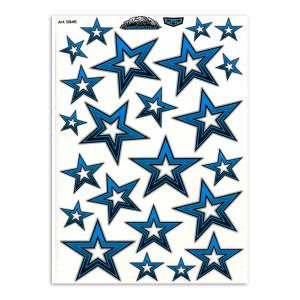 Stars blue large voor fietsen | Afmeting 34 x 24 cm