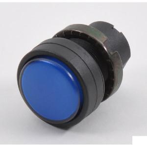 New-Elfin Signaallamplens blauw - 020LTBBBLK | Complete lamphouder | Eenvoudige montage | UL, CSA, RINA, IMQ | 2W max. W