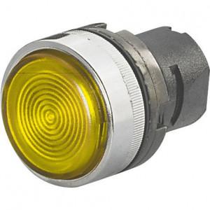 New-Elfin Signaallamplens geel - 020LTBBGW | Complete lamphouder | Eenvoudige montage | UL, CSA, RINA, IMQ | 2W max. W