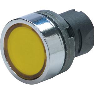 New-Elfin Signaallamp geel - 020LTBIGW | Complete lamphouder | Eenvoudige montage | UL, CSA, RINA, IMQ