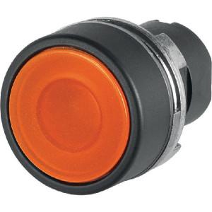 New-Elfin Verlichte drukknop - 020PLIA | UL, CSA, RINA, IMQ | 2x10E6 schakelingen | Oranje