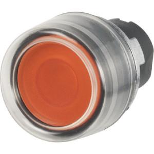 New-Elfin Drukknop met rubber kap - 020PLICGA | UL, CSA, RINA, IMQ | 2x10E6 schakelingen | Oranje