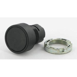 New-Elfin Drukknop zwart - 020PTAINK | Diverse kleuren leverbaar | UL, CSA, RINA, IMQ | 65 IP | 2x10E6 schakelingen