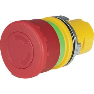 New-Elfin Noodstop knop 33mm - 020PTAR | UL / CSA / RINA / IMQ | 0,3x10E6 schakelingen