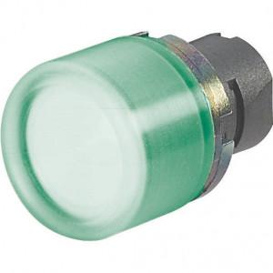 New-Elfin Drukknop met rubber kap groen - 020PTCGV | UL, CSA, RINA, IMQ | 2x10E6 schakelingen