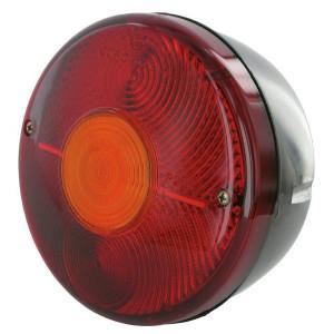 Cobo Achterlamp - 0221900001 | links / rechts | Inbouw | 140 mm | rood / orange