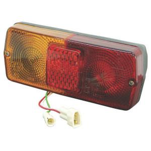 Cobo Achterlamp links - 02356000 | 5091429 | rechts | Inbouw | 160 mm | 184 mm | rood / orange
