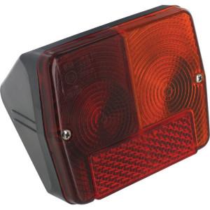 Cobo Achterlicht - 02383000 | rechts | 125 mm | 100 mm