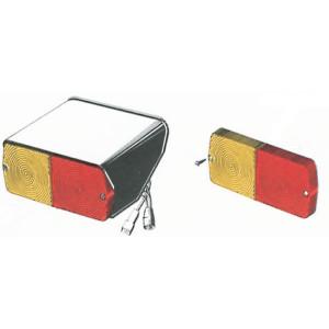 Cobo Achterlamp links - 02537000   Opbouw   Deutsch   400 mm   212 mm   155 mm   rood / orange   E3 43053