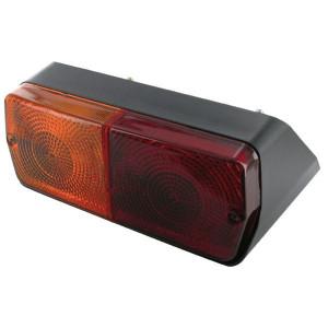 Cobo Achterlamp rechts - 02538000 | rechts | Opbouw | Deutsch | 400 mm | 212 mm | 155 mm | rood / orange | E3 43053