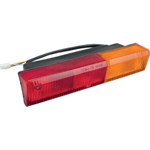 Cobo Achterlamp rechts - 02747000 | rechts | Inbouw | 305 mm | rood / orange